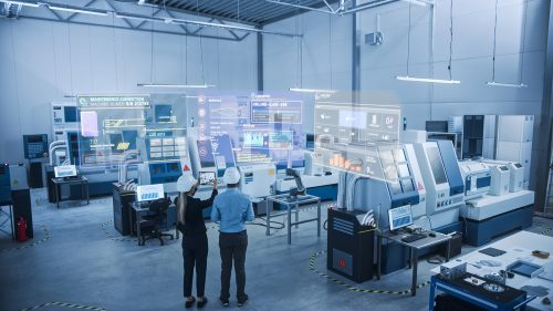 Cyber physical manufacturing plant