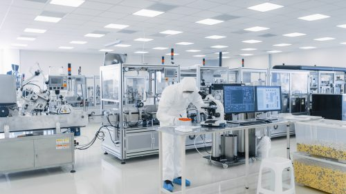 High tech manufacturing facility