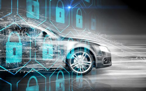 Car with cyber security