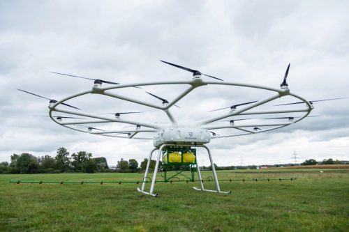 Large 18 rotor drone