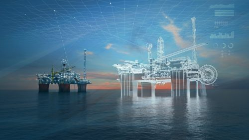 Off shore oil and gas digital twin